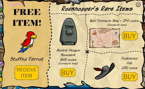 new items from rockhopper